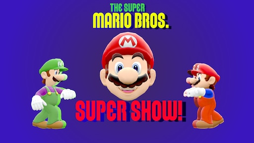 Steam Samfunn The Super Mario Bros Super Show Reimagined