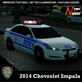 Steam workshop 2014 nypd chevrolet impala publicscrutiny Image collections