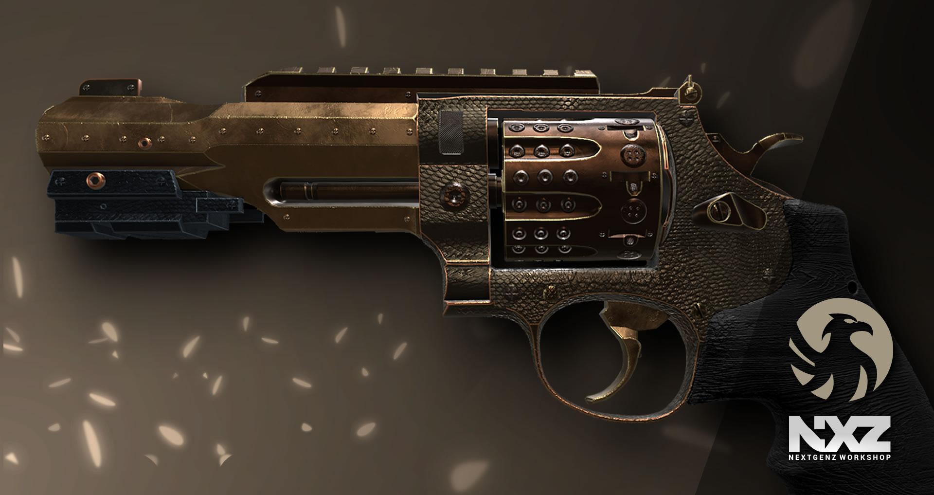 pistol revolver 48 n1