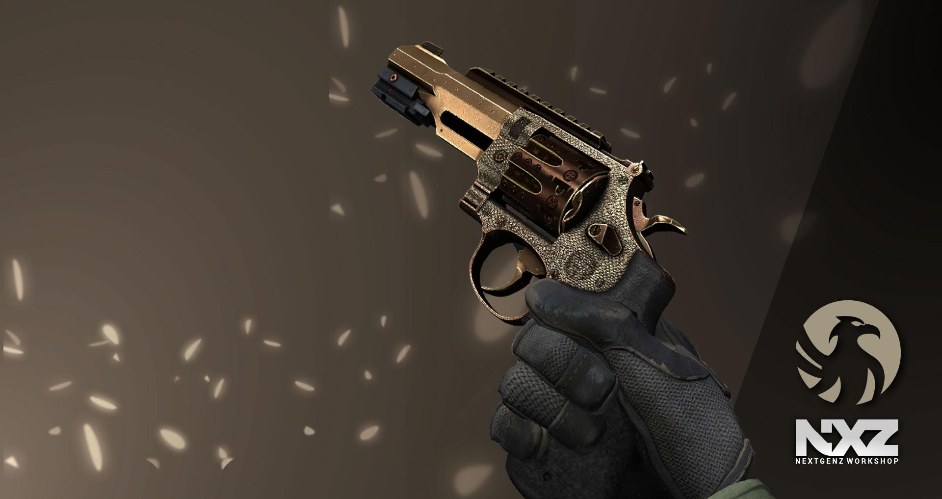 Revolver r8 pistol 2