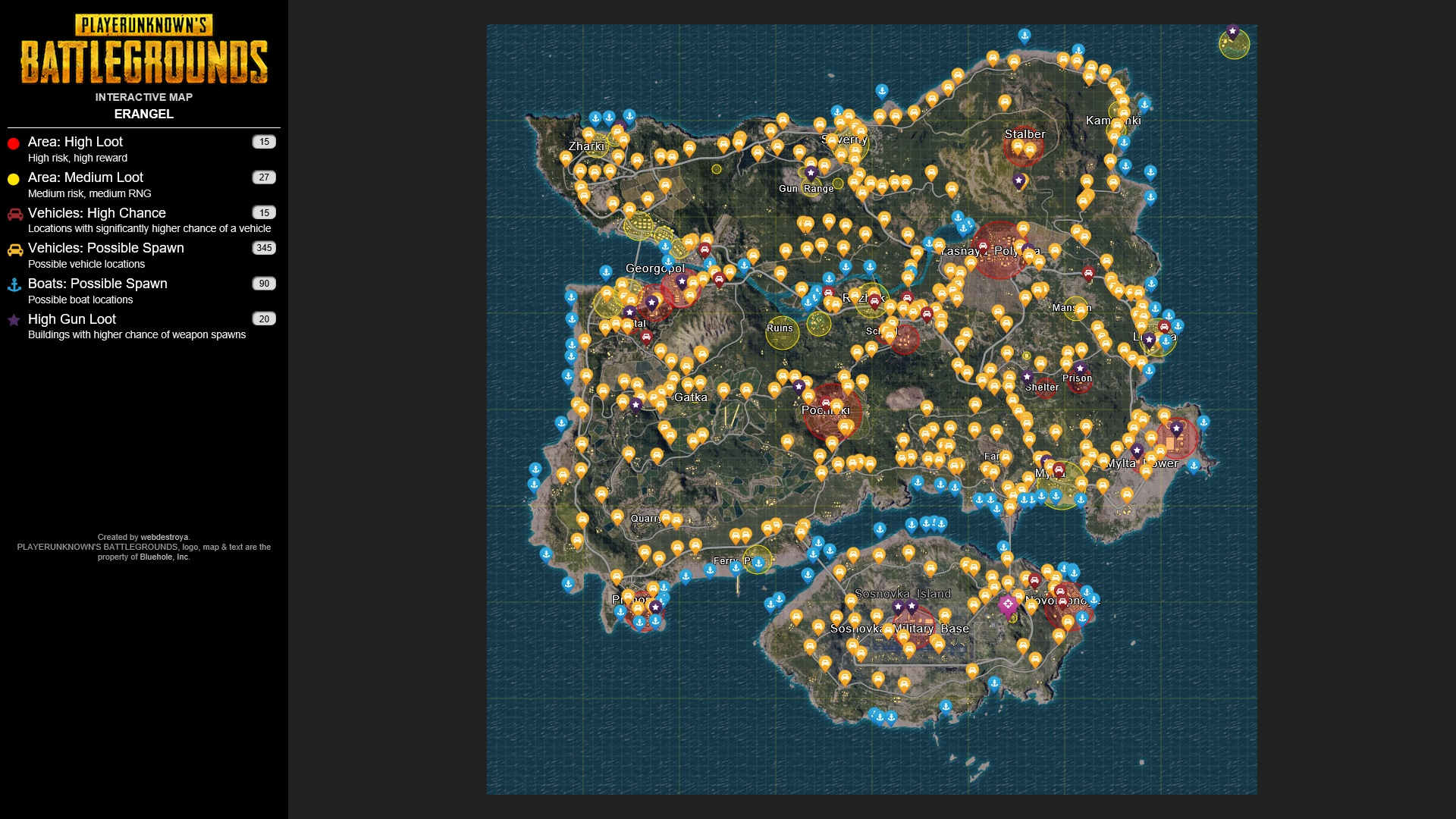 Playerunknown S Battlegrounds Maps Loot Maps Pictures: Pubg Map Wallpaper
