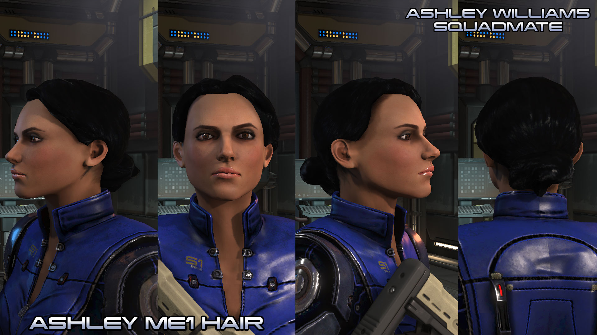 Steam Workshop Ashley Williams Squadmate Wotc