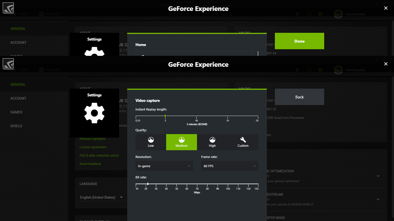 how to record highlights with geforce experience