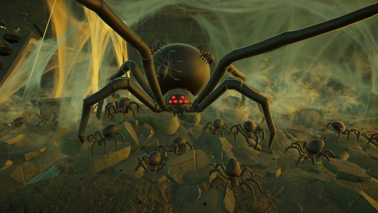 aritario's Abandoned Mansion: Spider Nest