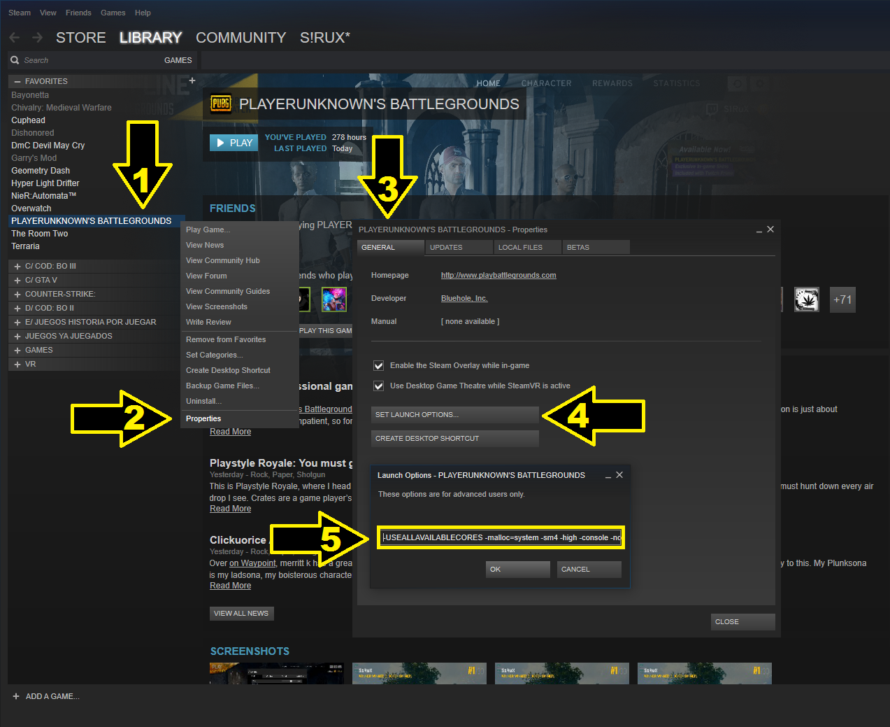 Steam Community :: Guide :: The most complete guide to increase FPS
