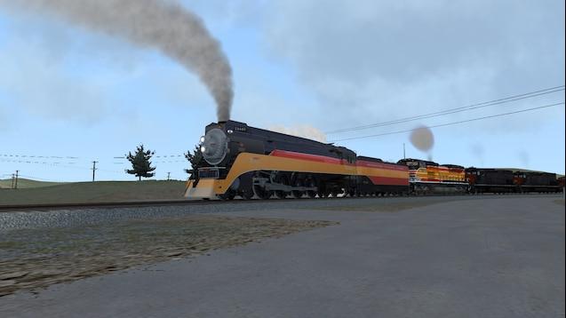 Steam Workshop :: UP SP 4449 revenue run (AMTK181)