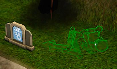 Среднее надгробие в симсе Ваза. Покостовский гранит Зеленоградск