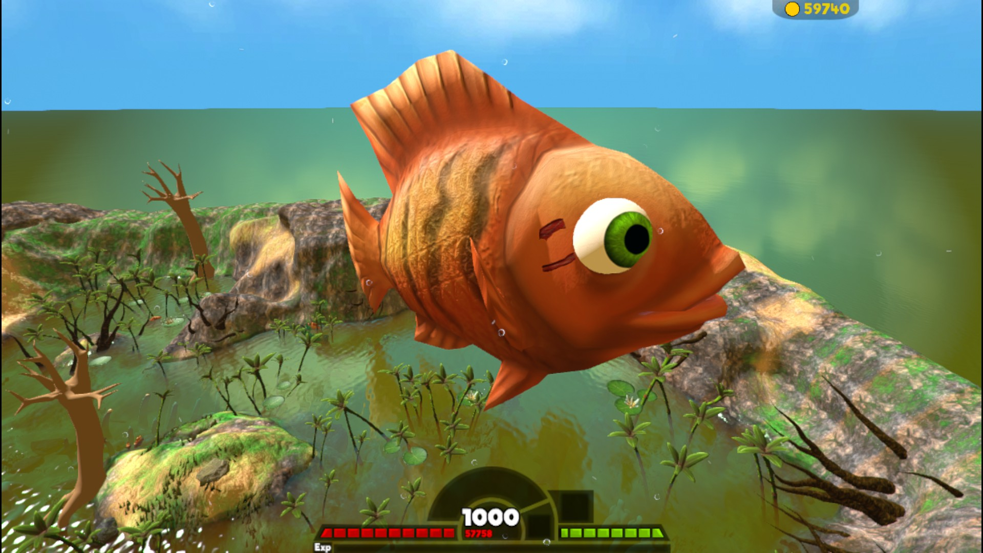 Feed and grow fish hardcore games for Fish and grow