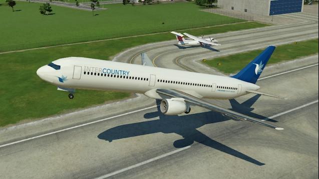 Steam Workshop :: Boeing 767-300 Intercountry Livery - MJ1989 Planepack