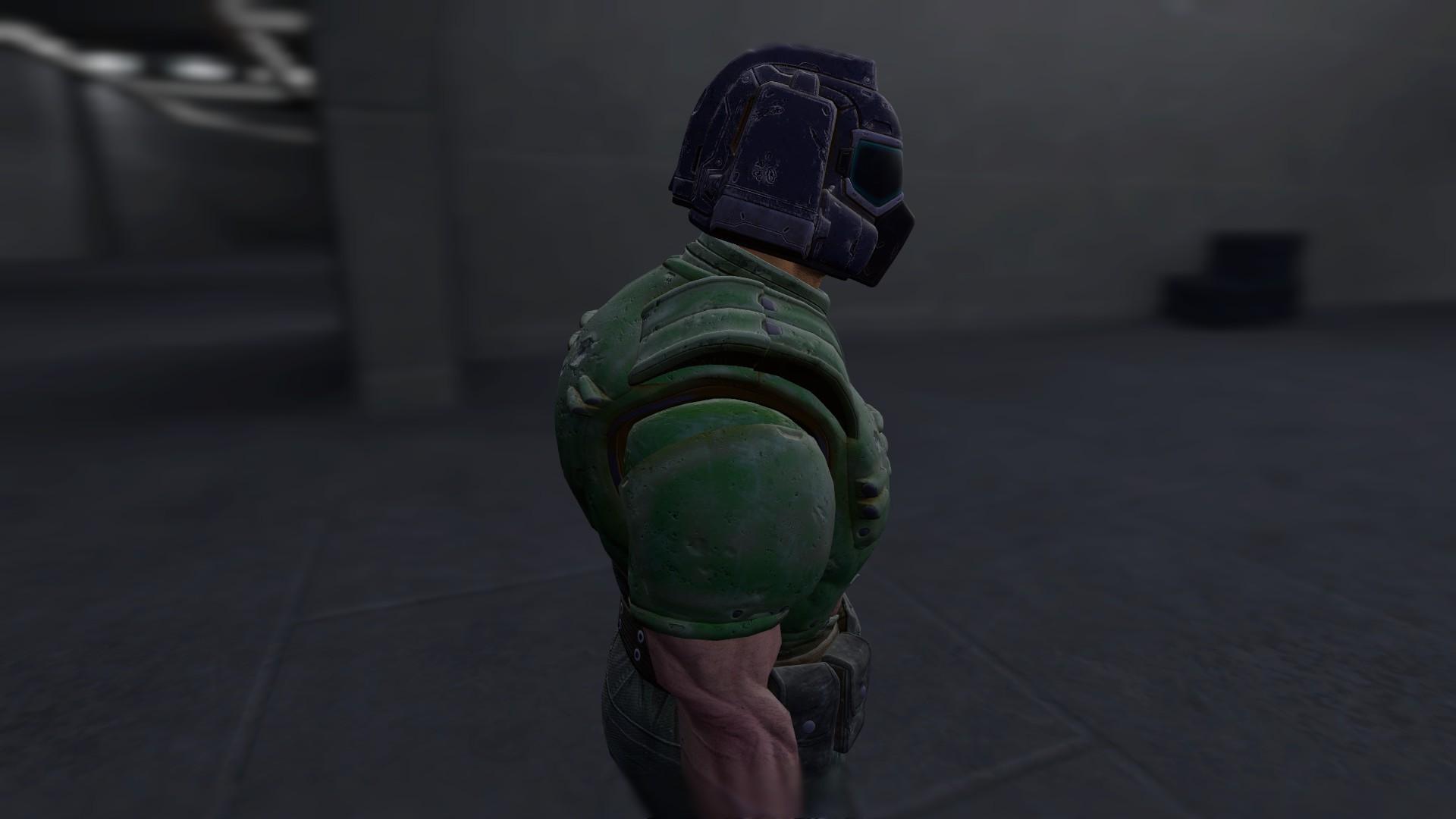 Steam Workshop Doom Doomguy Playermodel Quake Champions