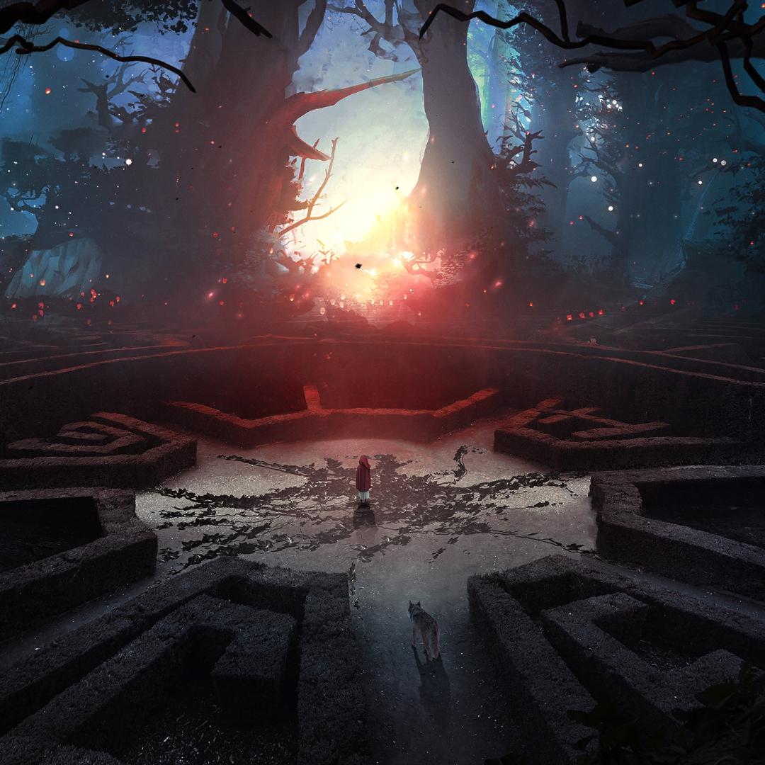 Forest maze rpg