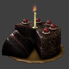 Fantastic Steam Workshop Slightly Enhanced Cake Personalised Birthday Cards Veneteletsinfo