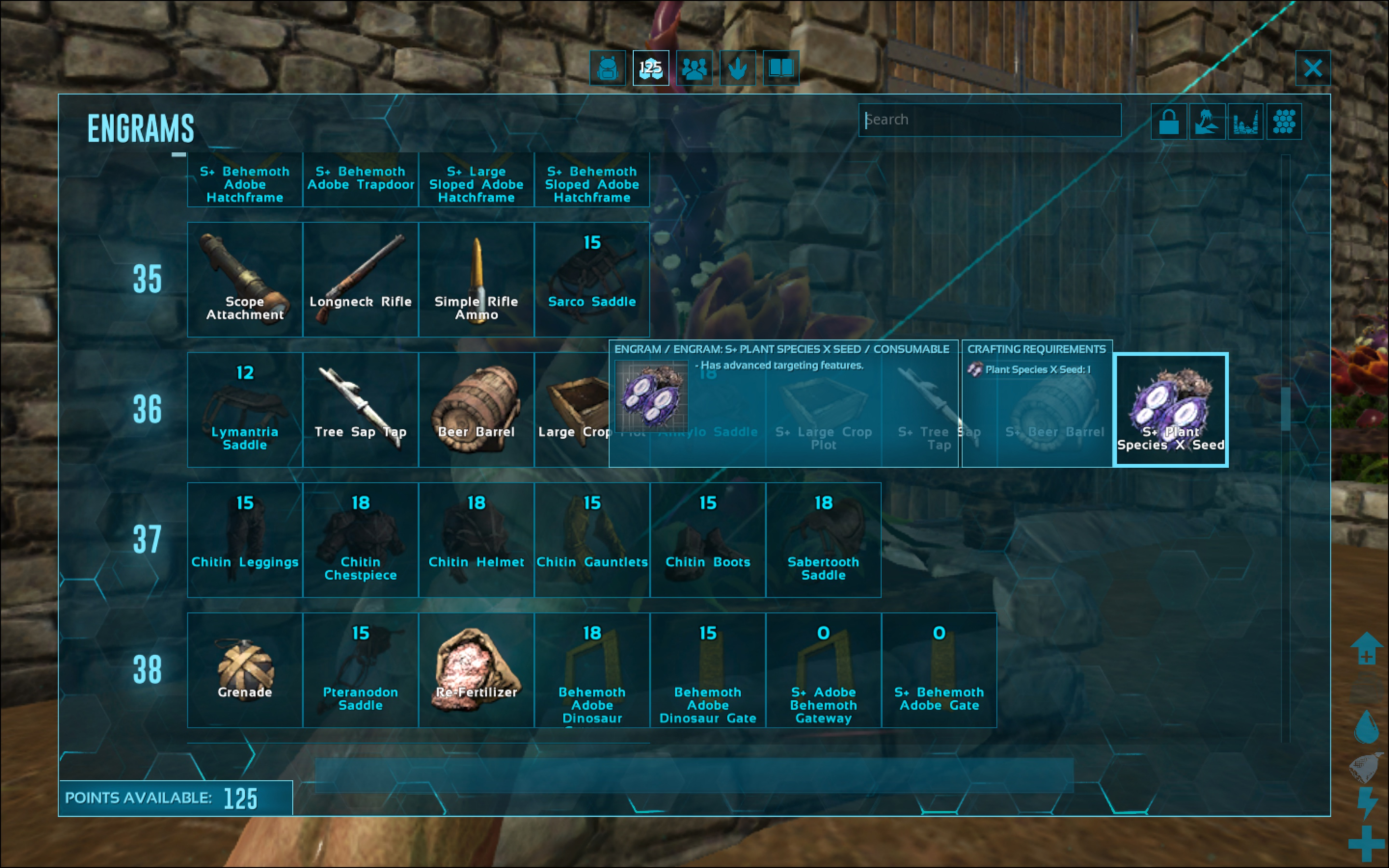 Steam community guide how to make s plant species x seeds species x seed engram which costs 0 engram points to learn and has no prerequisites you will need this engram in order to convert your seeds at all malvernweather Image collections