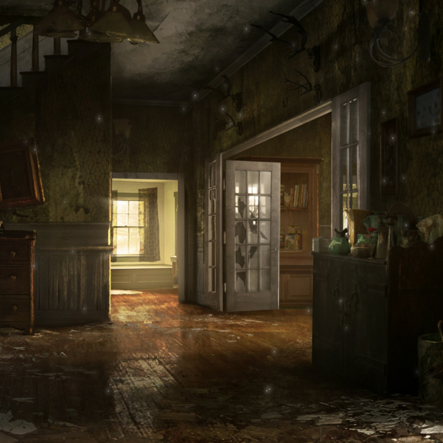 Post Apocalyptic House Wallpaper Engine