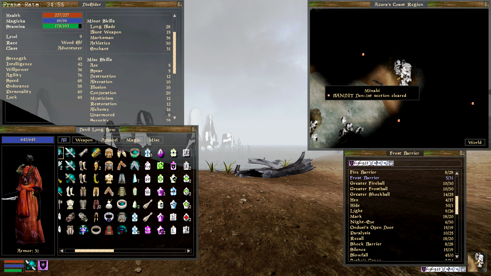 Steam Community :: Guide :: MORROWIND: A Console Commands