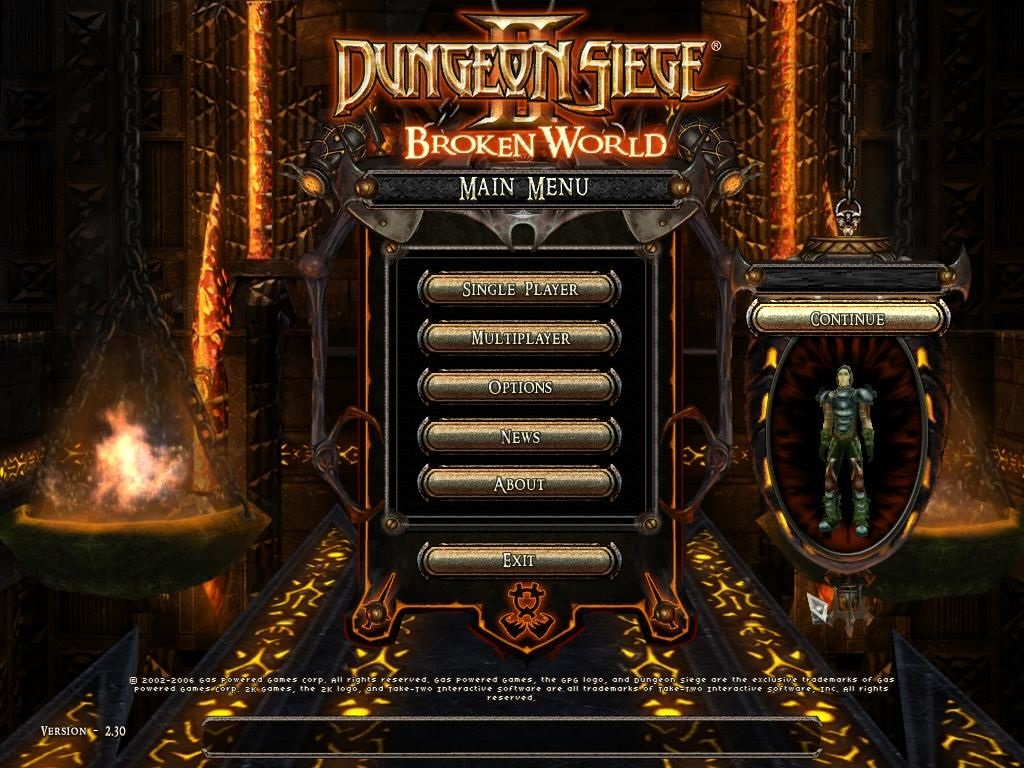 dungeon siege 2 broken world shop mod