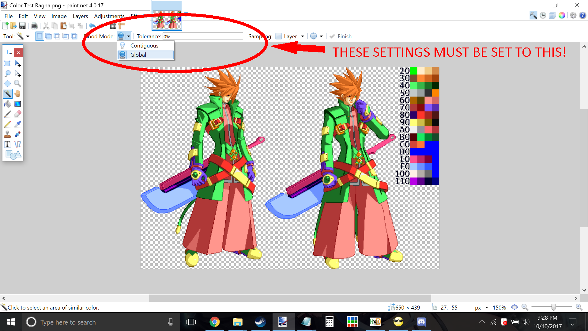 How To Custom Select Areas In Paint Net