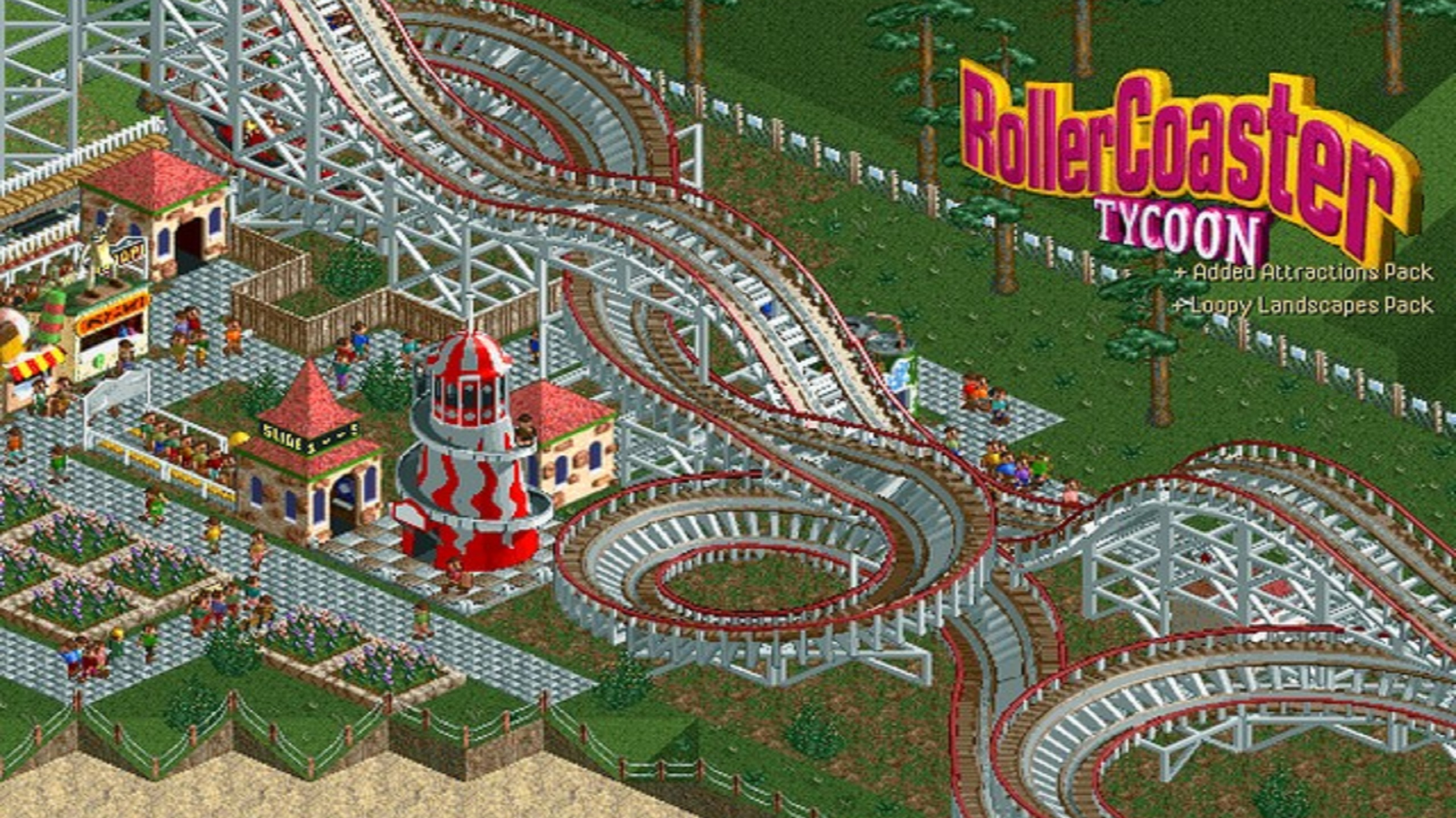 Steam Workshop :: RCT Classic Park Scenario Recreations