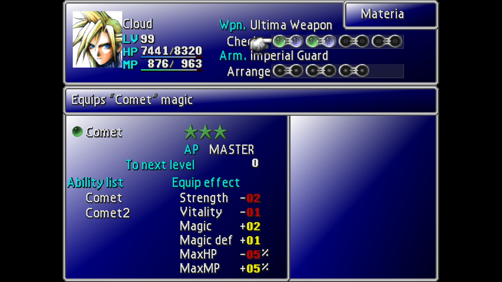 Steam Community Guide Useful Materia Combos