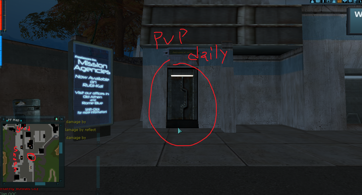 The PVP Daily is hidden in here!