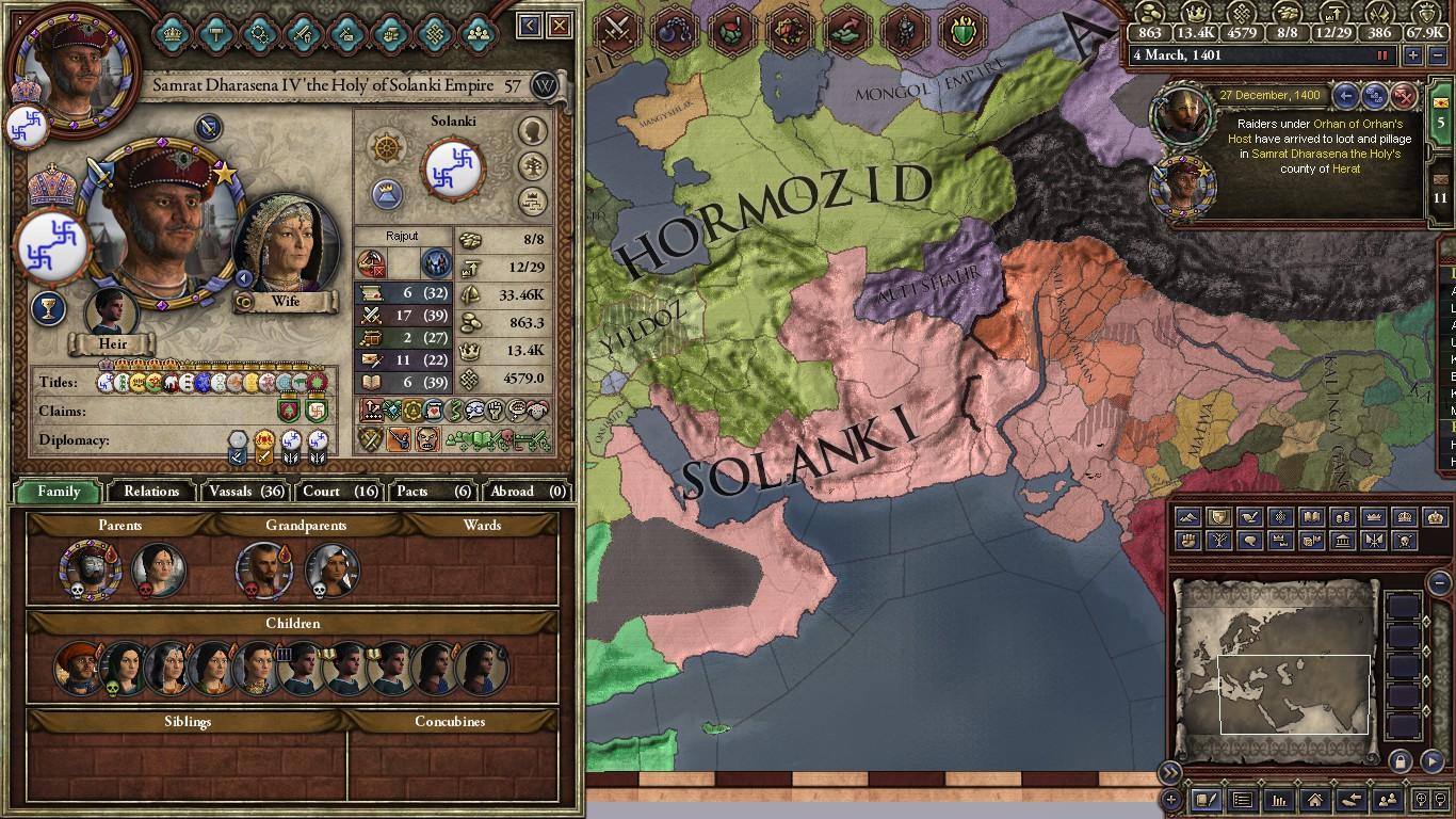 Crusader Kings II - Kingdom of Gujarat, 1066 start - Page 2