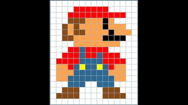 Steam Workshop Mario Pixel Art