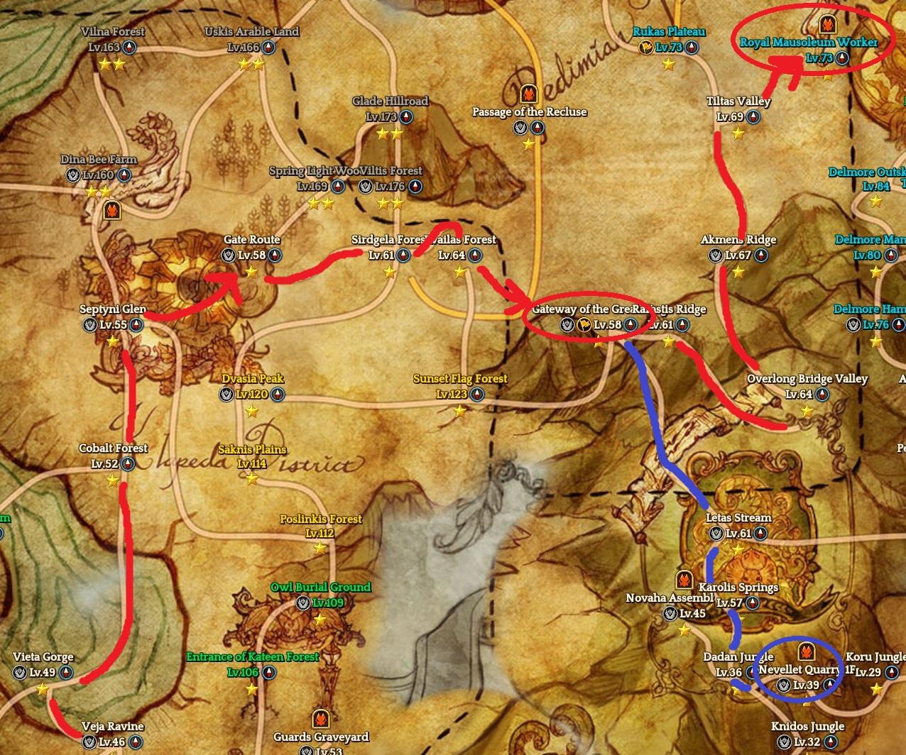 Steam community guide guia para novatos leveling obs voc ser teleportado de kvailas forest at gateway of the great king atravs de uma quest no h conexo fsica entre os mapas fandeluxe Images
