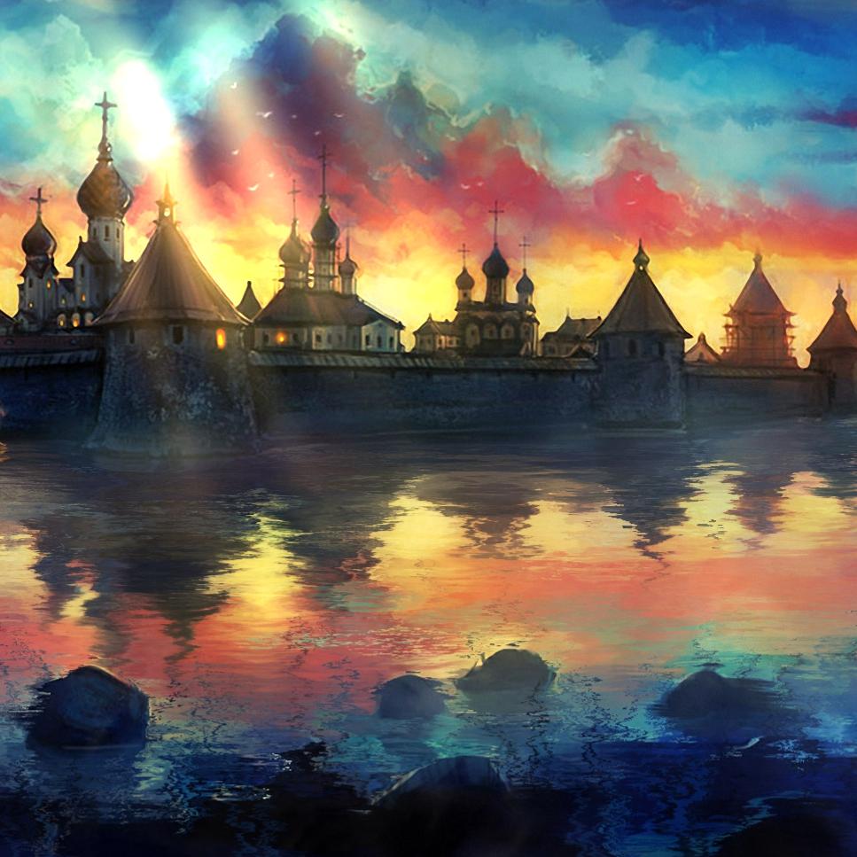 Russian Monastery Wallpaper Engine
