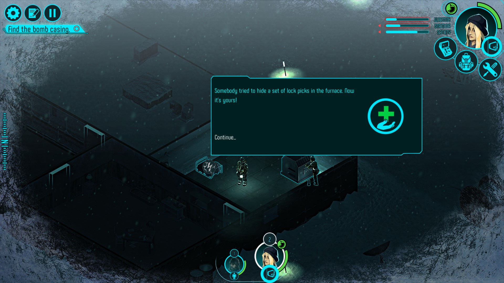 A screenshot of Distrust.