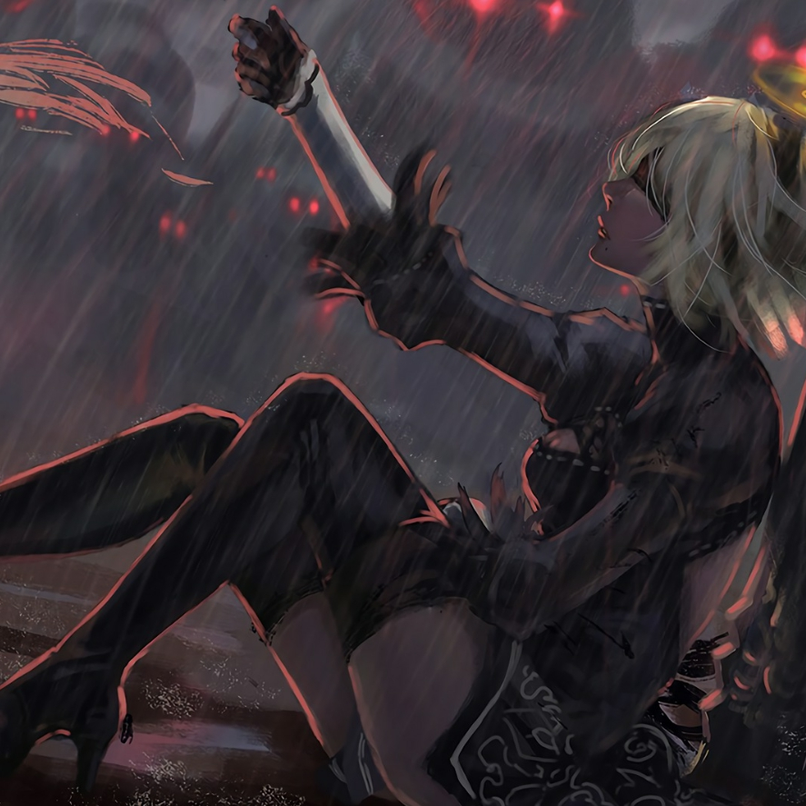 2B Nier Automata Wallpaper Engine