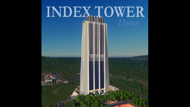 Index Tower Dubai Rico Skymods