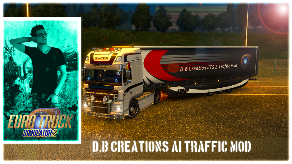Steam Community :: :: D B Creation ETS 2 AI Traffic Mod Logo