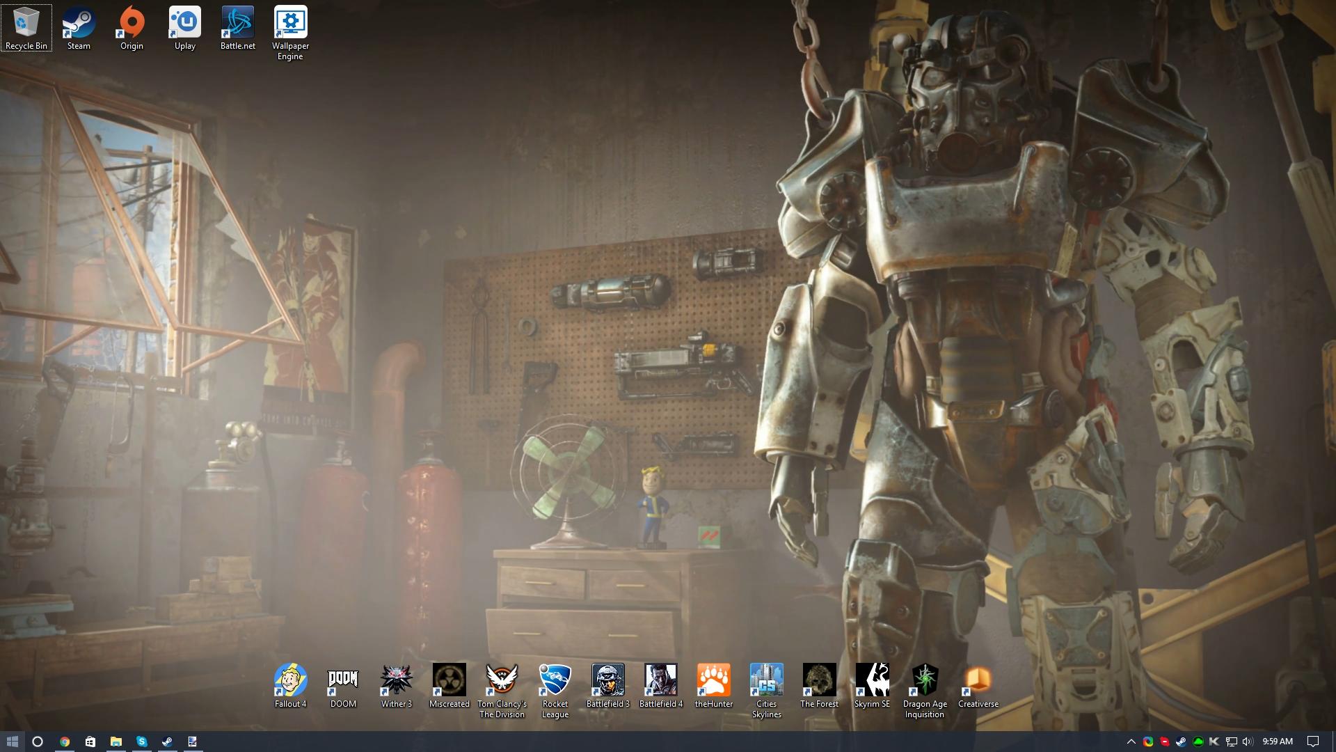 Steam Workshop Fallout 4 Main Menu 4k With Sound