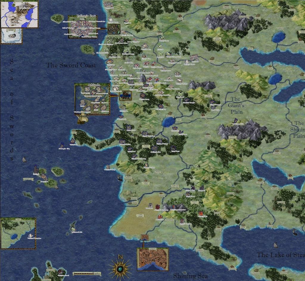 Steam Kozosseg Baldur S Gate Trilogy World Map
