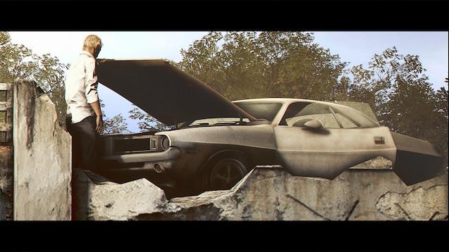 Steam Workshop Resident Evil 7 Dodge Challenger