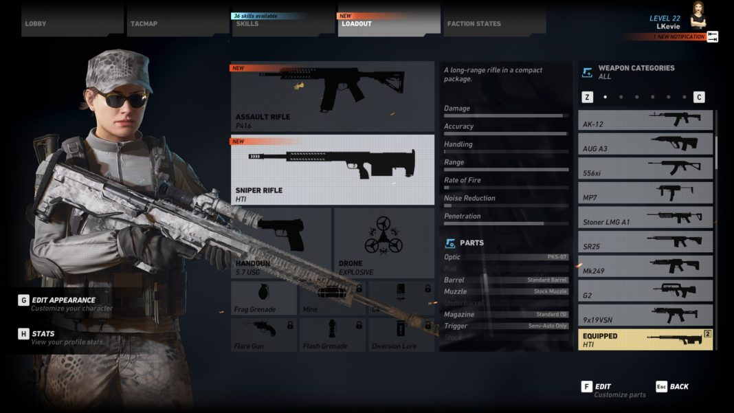 Steam Community Guide Top 3 Sniper Rifles In Ghost Recon