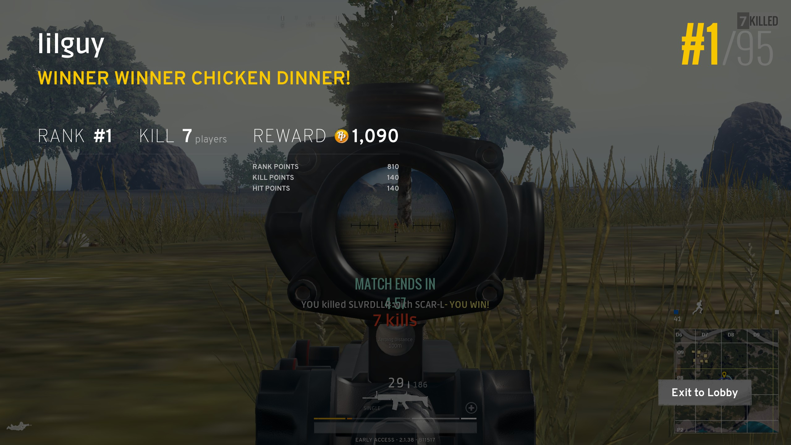 PLAYERUNKNOWN'S BATTLEGROUNDS - This game has a very