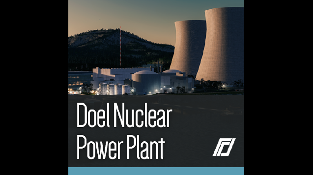 Doel Nuclear Power Plant Skymods