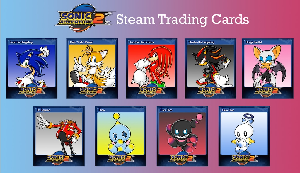 Steam Community :: :: Sonic Adventure 2 Trading Cards