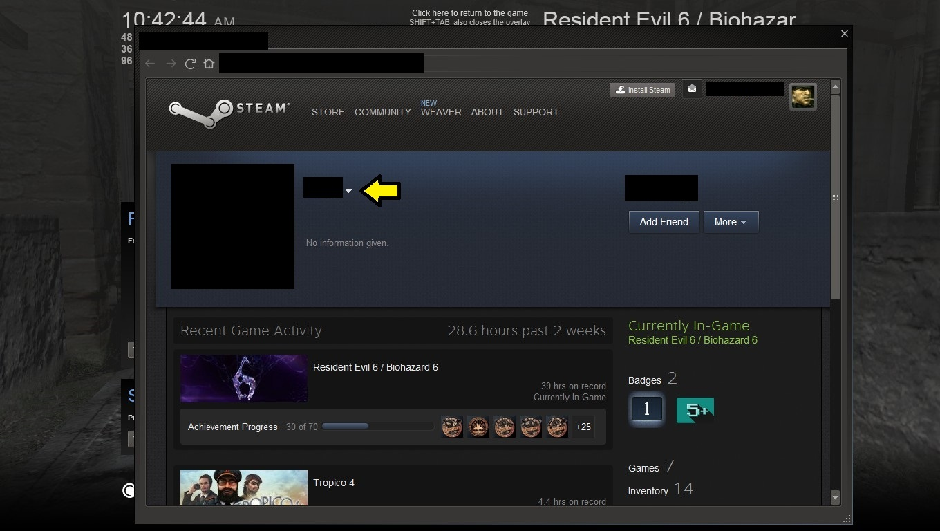 how to stop the steam overlay pop up