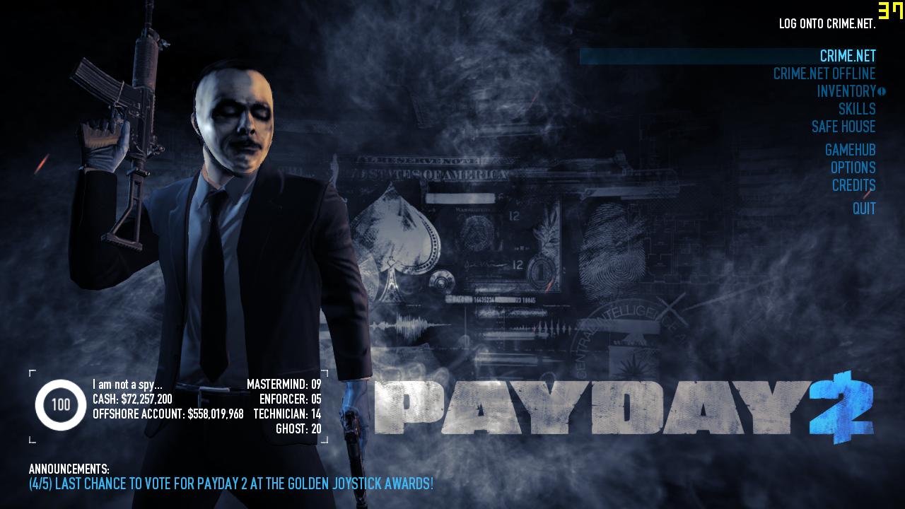 скачать последнюю версию payday 2
