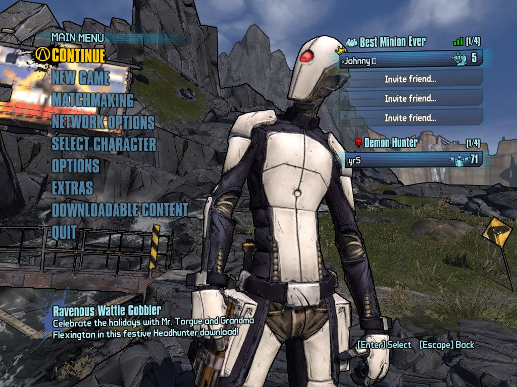 Borderlands 2 problemer matchmaking