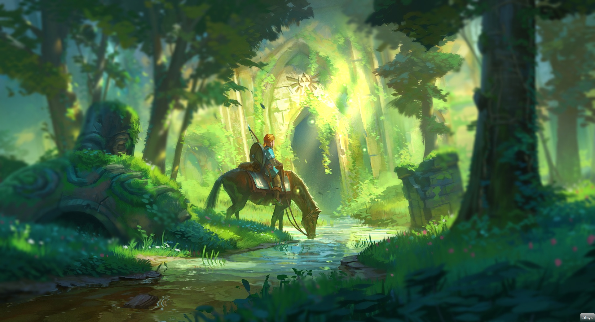 Steam Workshop The Legend Of Zelda Breath Of The Wild Forest