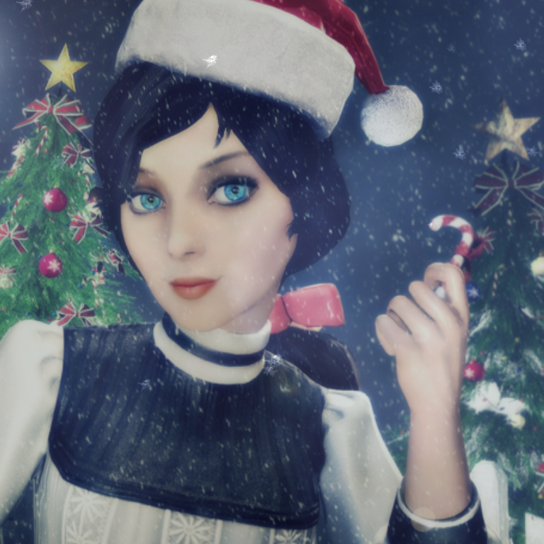 Merry Christmas Elizabeth Wallpaper Engine