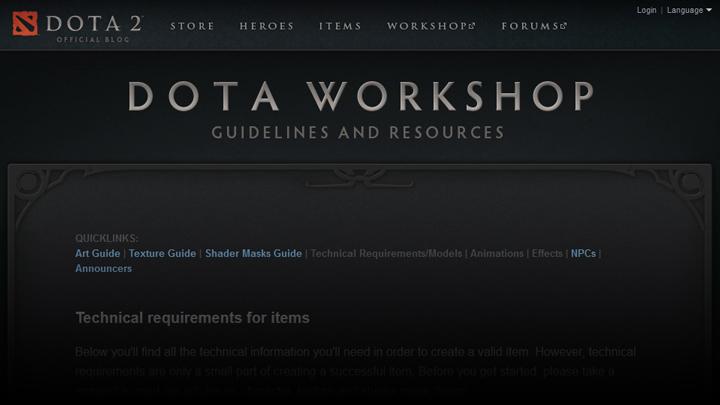 steam community guide dota 2 basic workshop guide blender