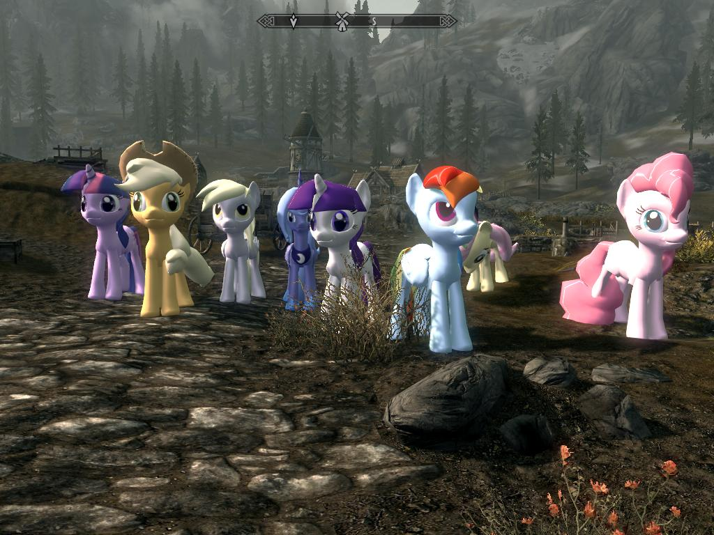 Steam Workshop :: Skyrim My Little Pony horse mod - Playable