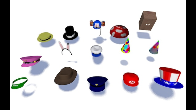 Steam Workshop Roblox Hats Pack