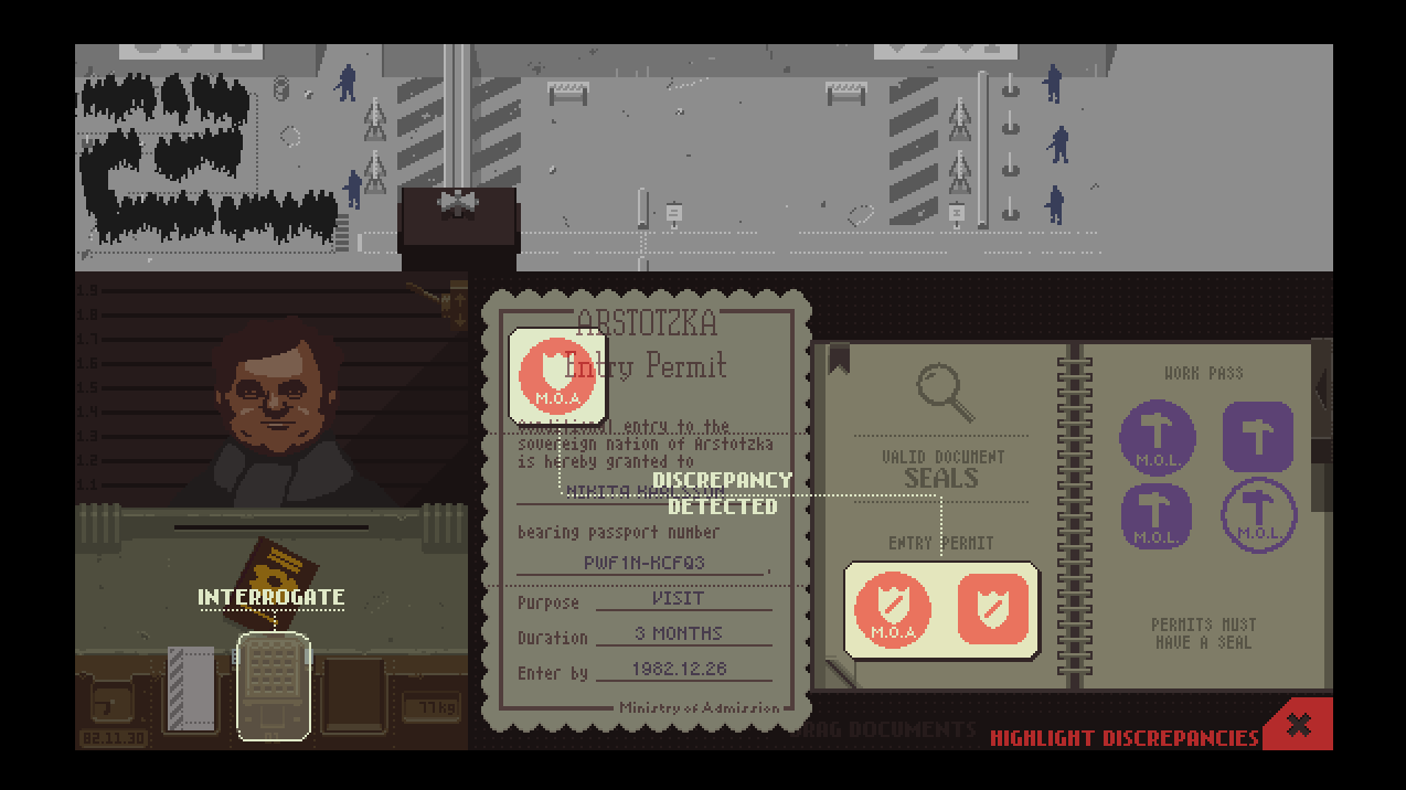 Steam Greenlight :: Papers, Please