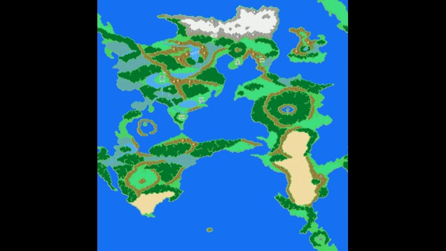 Steam Workshop :: Final Fantasy II - World Map