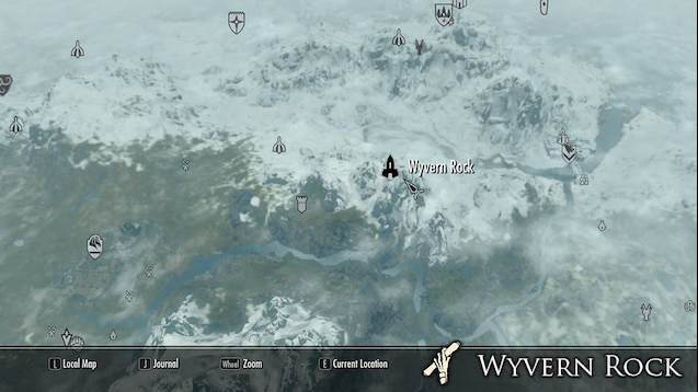 23+ Skyrim Wyvern Mod Background